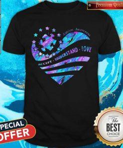 Heart Autism Awareness Accept Understand Love Shirt