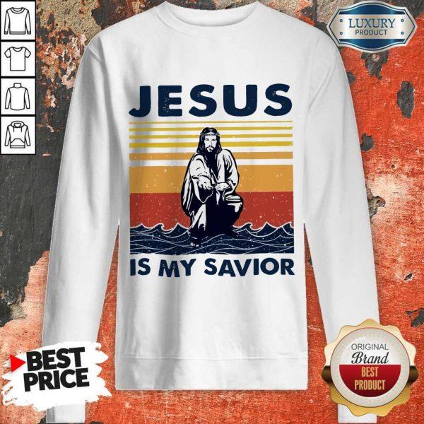 Jesus Is My Savior Vintage Sweatshirt