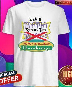 Just A Mama Raising Her Rugrats Wild Thornberrys Shirt