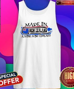 Made In New Zealand A Long Long Time Ago Tank Top