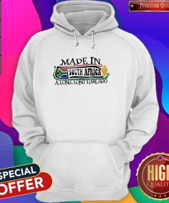 Made In South Africa A Long Long Time Ago Hoodie