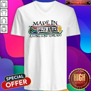 Made In South Africa A Long Long Time Ago V-neck