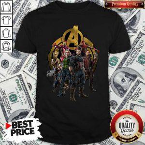 Marvel Studios Avengers Endgame Characters Shirt