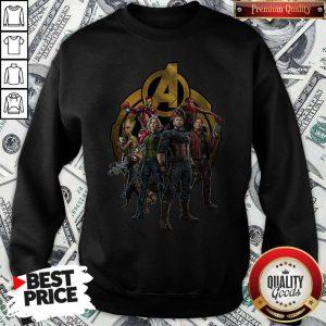 Marvel Studios Avengers Endgame Characters Sweatshirt
