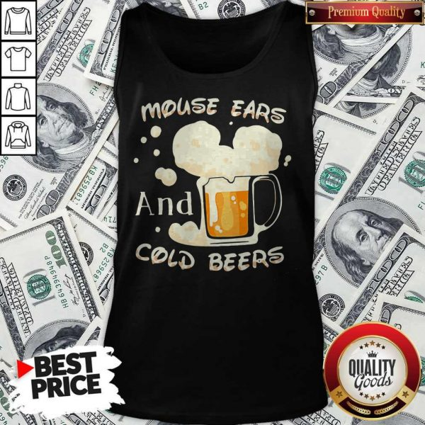 Mouse Cars And Cold Beers Kind Of Girl Tank Top