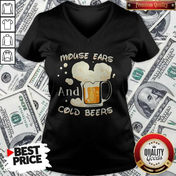 Mouse Cars And Cold Beers Kind Of Girl V-neck