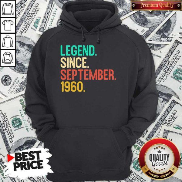 Nice Legend Since September 1960 Hoodie