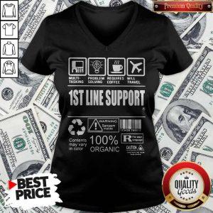 Official 1St Line Support V-neck
