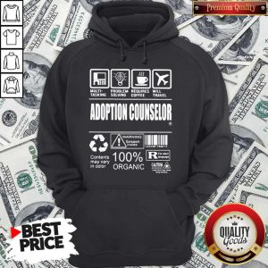 Official Adoption Counselor Hoodie