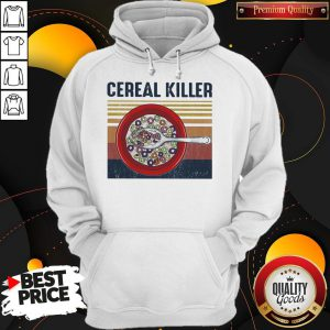 Official Cereal Killer Vintage Retro Hoodie