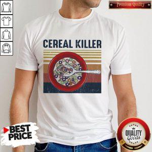 Official Cereal Killer Vintage Retro Shirt