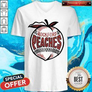 Official Rockford Peaches V-neck