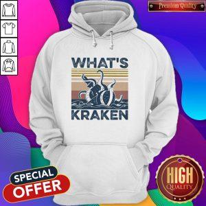 Official What's Kraken Vintage Hoodie