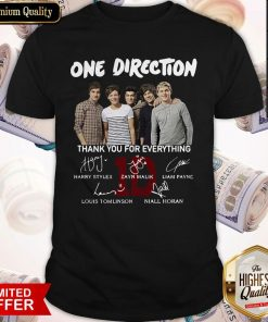 One Direction Thank You For Everything Signature Shirt