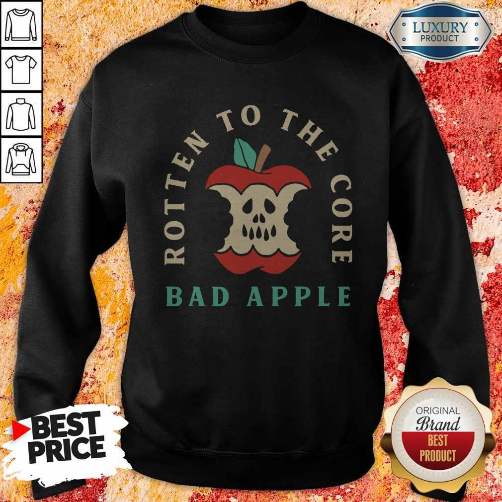 Rotten To The Core Bad Apple Sweatshirt