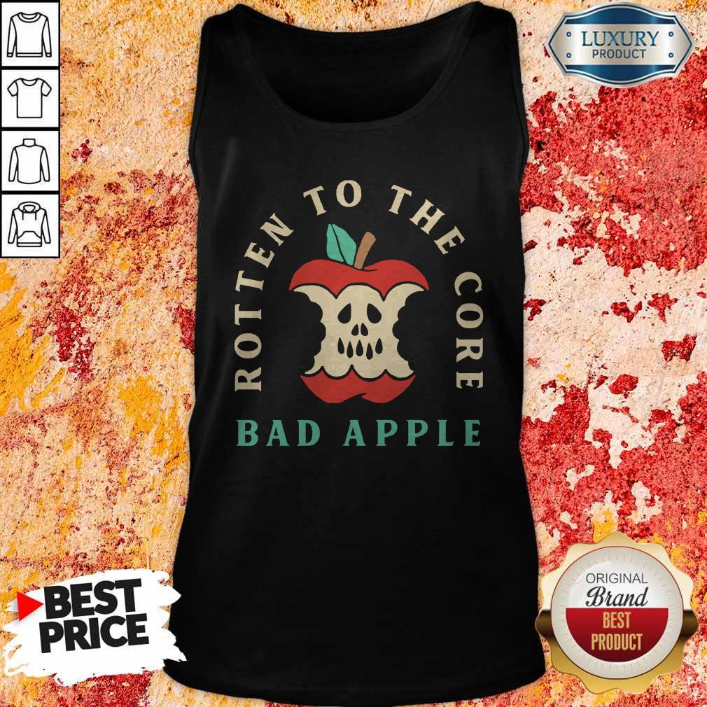 Rotten To The Core Bad Apple Tank Top