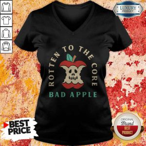 Rotten To The Core Bad Apple V-neck