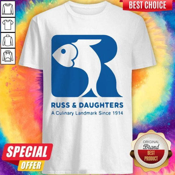 Russ And Daughters A Culinary Landmark Since 1914 Shirt