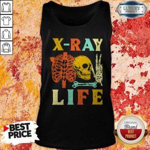 Skeleton X-Ray Life Vintage Tank Top