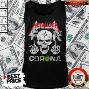 Skull Metallica Fuck Corona Tank Top