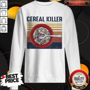 Official Cereal Killer Vintage Retro Sweatshirt