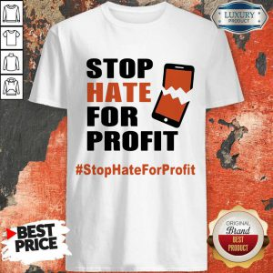 Stop Hate For Profit Shirt
