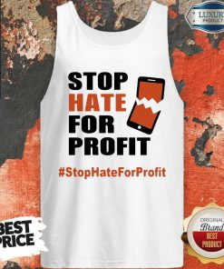 Stop Hate For Profit Tank Tank
