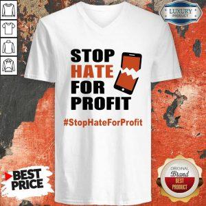 Stop Hate For Profit V-neck