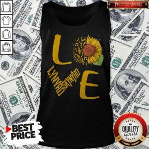 Sunflower And Music Note Love Lynyrd Skynyrd Tank Top