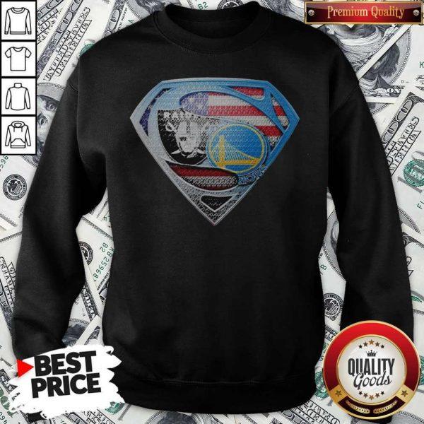 Superman Golden State Warriors And Oakland Raiders Sweatshirt