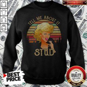 Tell Me About It Grease Stud Vintage Sweatshirt