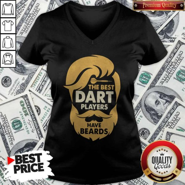 The Best Dart Players Have Beards V-neck