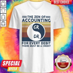 The Zen Of Accounting For Every Debit There Must Be A Credit Vintage Shirt