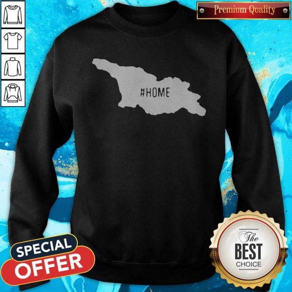 Top Georgia Maps #Home Sweatshirt