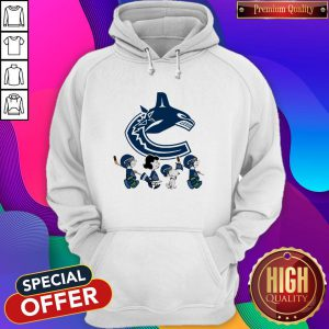 Vancouver Canucks The Peanuts Character Hoodie
