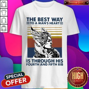 Viking Valkyrie The Best Way To The Man's Heart Vintage Shirt