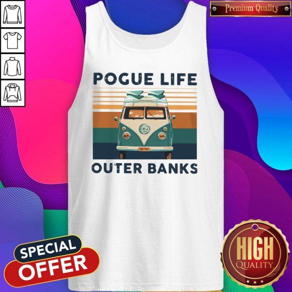 Volkswagen Pogue Life Outer Banks Vintage Tank Top