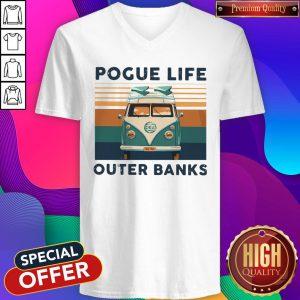 Volkswagen Pogue Life Outer Banks Vintage V-neck
