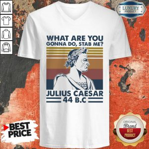 What Are You Gonna Do Stab Me Julius Caesar 44 Bc V-neck