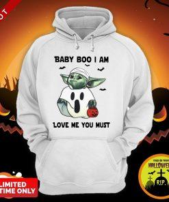 Baby Yoda Baby Boo I Am Love Me You Must Hoodie