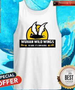Bat Wuhan Wild Wings So Good It's Contagious Coronavirus Tank Top