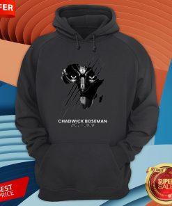 Chadwick Boseman Rip 1977 2020 T-Hoodie