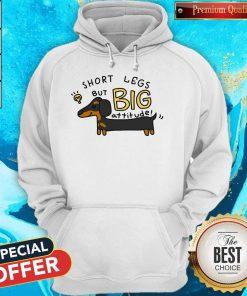 Dachshund Short Legs But Big Attitude Hoodie