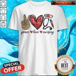 Diamond Peace Love Nursing Shirt