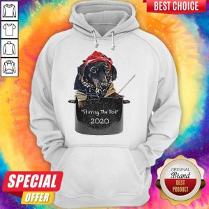 Dog Stirring The Pot 2020 Hoodie