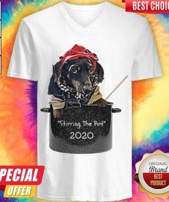 Dog Stirring The Pot 2020 V-neck