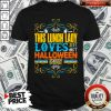 Funny This Lunch Lady Loves Halloween Party Shirt
