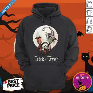 Funny Trick Or Treat Halloween Hoodie