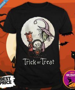 Funny Trick Or Treat Halloween Shirt
