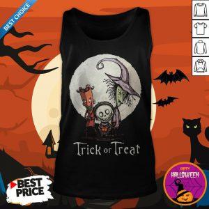 Funny Trick Or Treat Halloween Tank Top